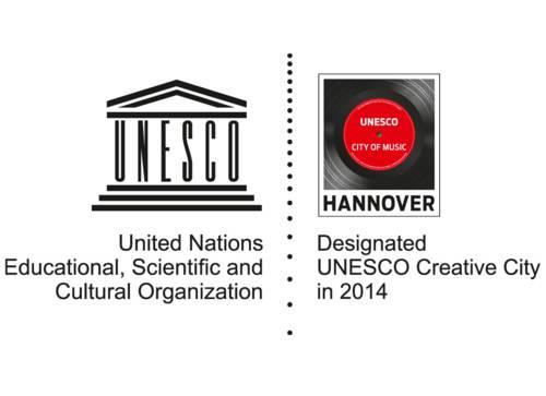 UNESCO City of Music Auszeichnungslogo