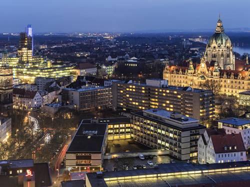 Hannover ist eine erfahrene Messe- und Kongressstadt sowie internationaler Ausbildungsstandort.