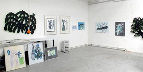 Atelier Block 16 im Gebäude der ehemaligen Textilreissfabrik in Hannovers Nordstadt
