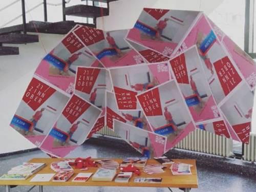 ZINNOBER-Infopoint in der Städtischen Galerie KUBUS