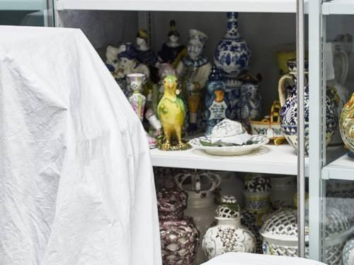 Ausgewählte Stücke aus den Depots des Museums