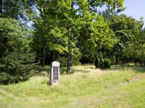 Foto eines aufgelassenen Friedhofes