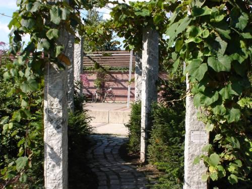 Eingang zu einem Park.