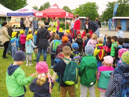 Sport-Safarie für kleine Sportlerinnen und Sportler im Kindergartenalter