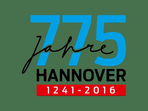 Logo zum Stadtjubiläum 775 Jahre Hannover