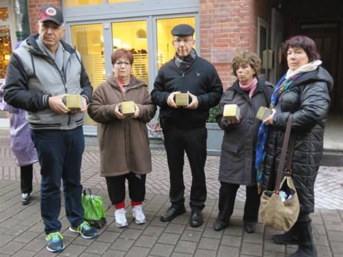 Stolpersteine für die Familie Eigermann