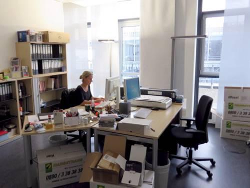 Die neuen Büroräume in der Rundestraße 6.