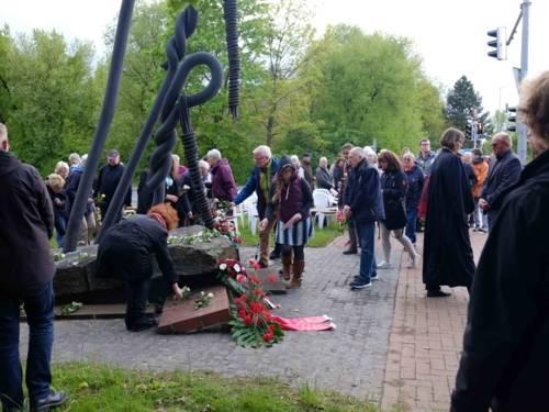 Gedenken am Mahnmal KZ Stöcken