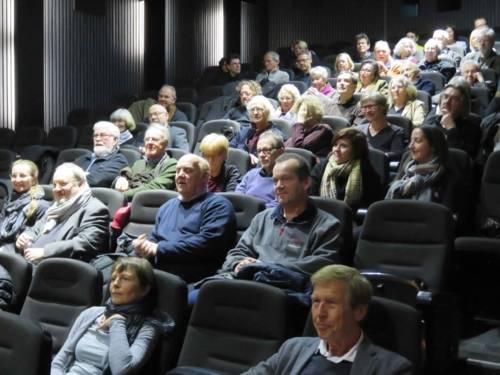 Gäste des Filmabends