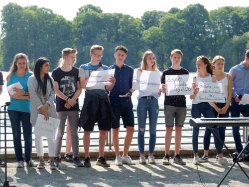 Aufführung der Schülerinnen und Schülern der Tellkampfschule
