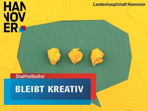 Aktion #bleibtkreativ