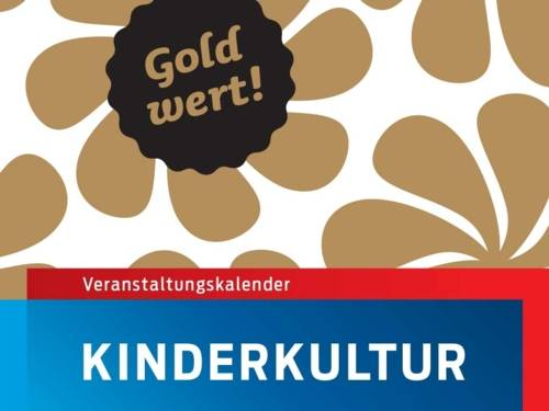 """Geometrisches Muster mit dem Siegelzeichen """"Gold wert"""""""