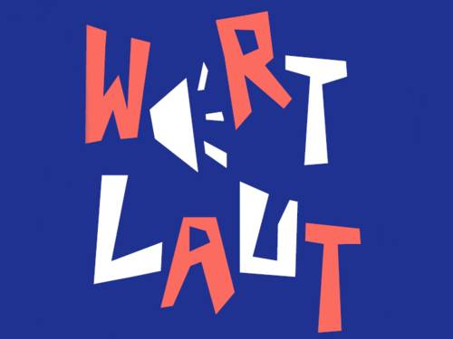WortLaut ist ein stadtweites, dezentrales Mitmach-Programm.