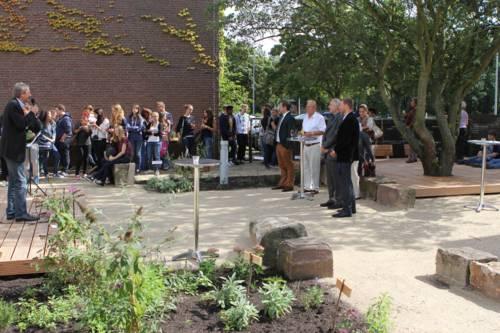 Eröffnung Klimagarten Herschelschule