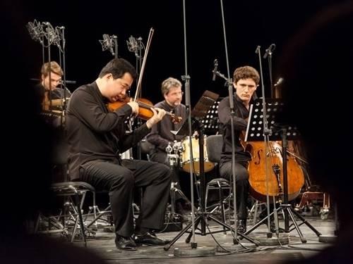 Während eines Konzerts von Igor Levit, Feng Ning und Maximilian Hornung