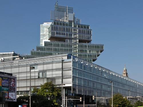 Das Gebäude der Nord LB am Aegidientorplatz