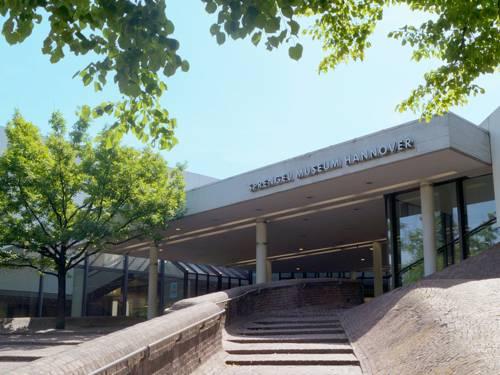 Der Eingangsbereich des Sprengel Museum Hannover