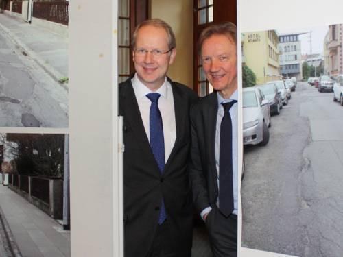 Oberbürgermeister Stefan Schostok und Stadtbaurat Uwe Bodemann
