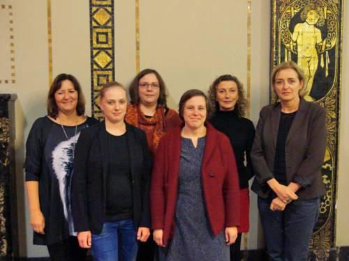 Das Team des Referats für Frauen und Gleichstellung der Landeshauptstadt