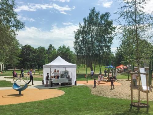Fest in einem Park