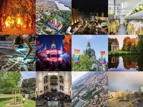 Eine Collage aus zwölf Fotos