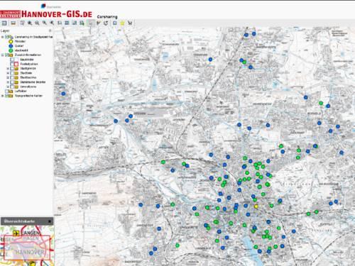 GIS-Karte