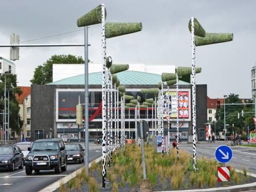 Autoverkehr am Aegidientorplatz
