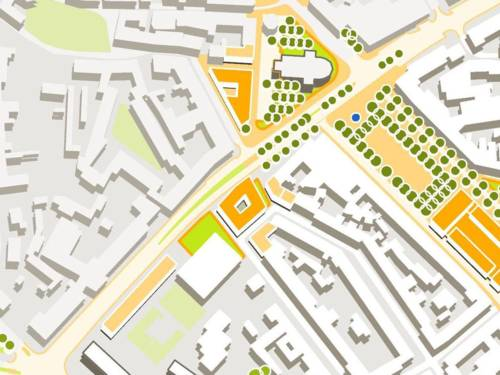 Innenstadtkonzept Hannover 2020+ – Ausschnitt Körnerplatz