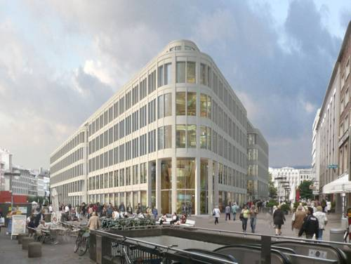 Projektion des zukünftigen Kröpcke Centers