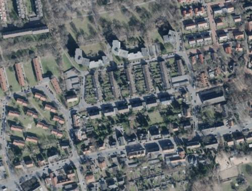 Luftbild des Stadtteils Hannover-Groß-Buchholz