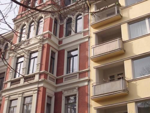 Eine Häuserfassade in Hannover
