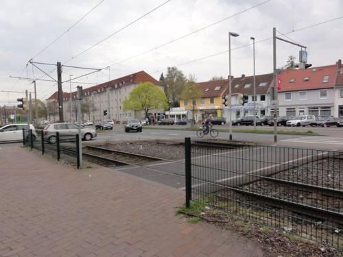 Stadtbahngleise in der Wallensteinstraße