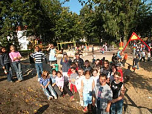 Kinder im Sanierungsgebiet Vahrenheide