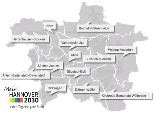 Arbeitsprogramm Mein Hannover 2030