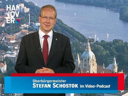 Oberbürgermeister Stefan Schostok im Video-Podcast
