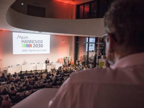 """Präsentation des Entwurfs für das Stadtentwicklungskonzept """"Mein Hannover 2030"""""""