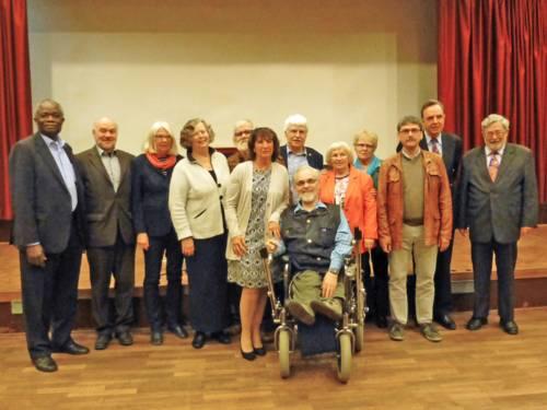 Gruppenfoto des aktuellen Seniorenbeirates