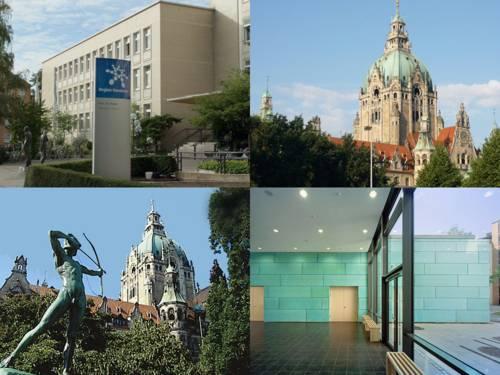 Das Neue Rathaus und das Haus der Region