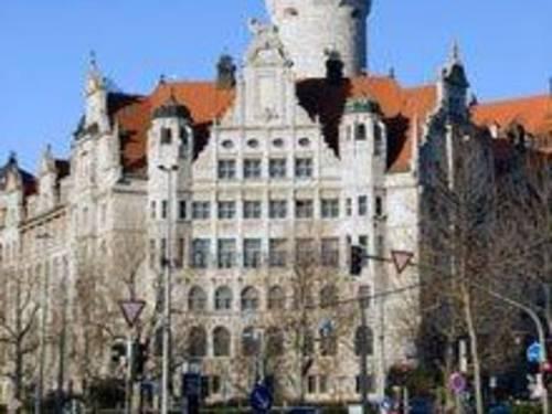 Teil des Leipziger Rathauses