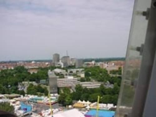 Blick über die City von Hannover
