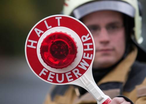 Symbolfoto: Halt Feuerwehr
