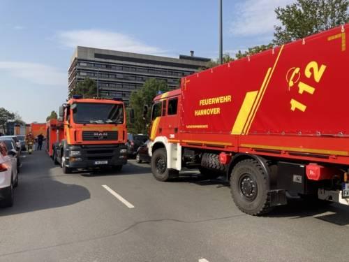 Autos der Feuerwehr Hannover