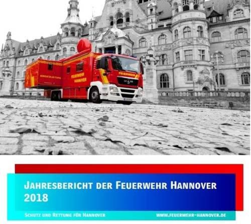 Jahresbericht 2018 Feuerwehr Hannover