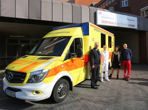Ärztliche Besetzung des Intensivtransportwagens der Feuerwehr neu geregelt.