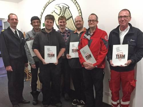Feuerwehr Hannover bestellt sechs neue Fachberater Sanität und Betreuung.