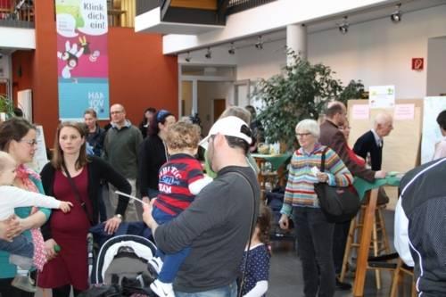 Foyer bei der Familienkonferenz Wettbergen