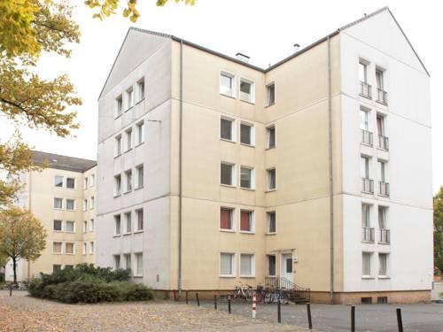 Die Unterkunft in der Haltenhoffstraße