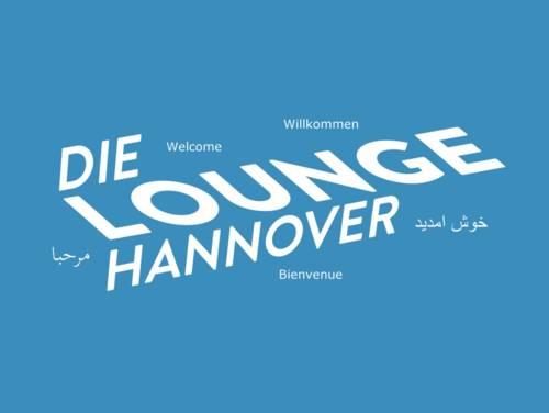 """Schriftzug """"Die Lounge Hannover"""""""