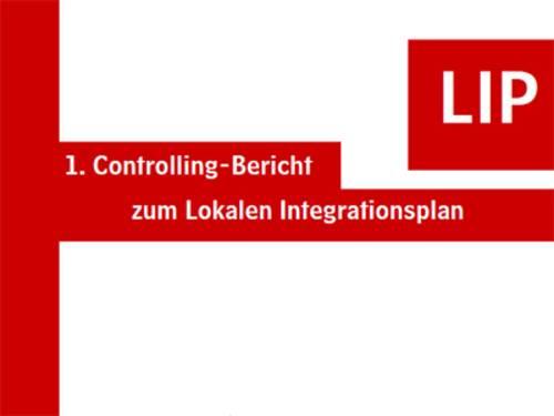 Titelblatt des 1. Controlling-Bericht zum LIP