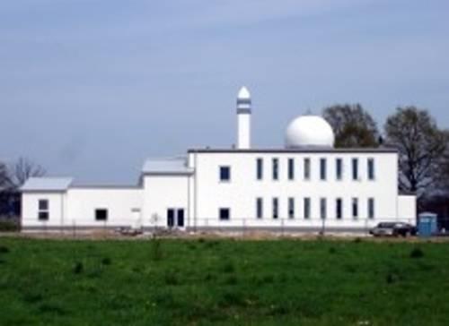Außenansicht der Moschee am Alten Damm
